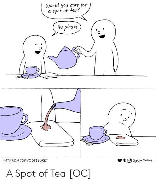 tea: A Spot of Tea [OC]