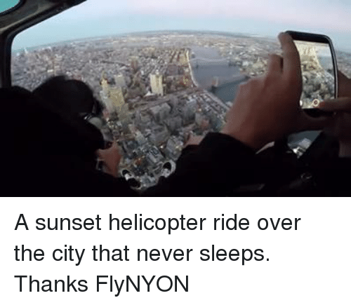 Helicopter Rides