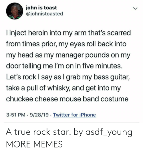rock: A true rock star. by asdf_young MORE MEMES