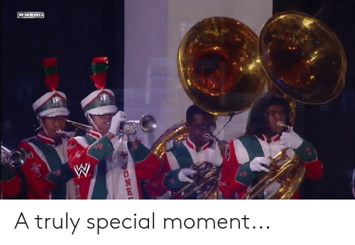 Moment, Special, and Truly: A truly special moment...