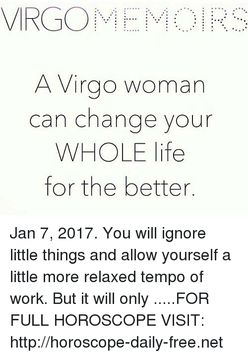 A Virgo Woman Can Change Your WHOLE Life for the Better Jan