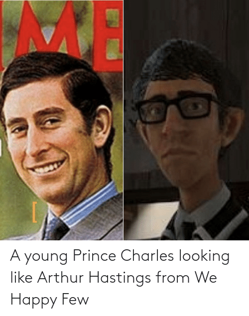 Arthur: A young Prince Charles looking like Arthur Hastings from We Happy Few