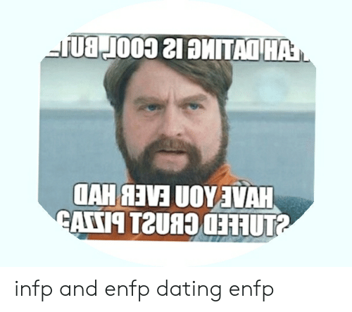 Enfp i infp dating