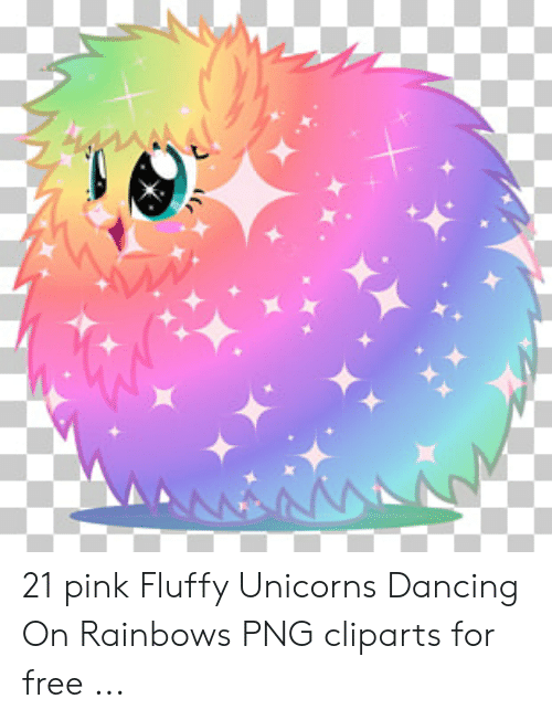 Dancing, Free, and Pink: AANNA 21 pink Fluffy Unicorns Dancing On Rainbows PNG cliparts for free ...