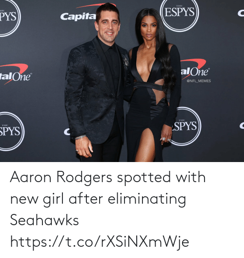 new: Aaron Rodgers spotted with new girl after eliminating Seahawks https://t.co/rXSiNXmWje