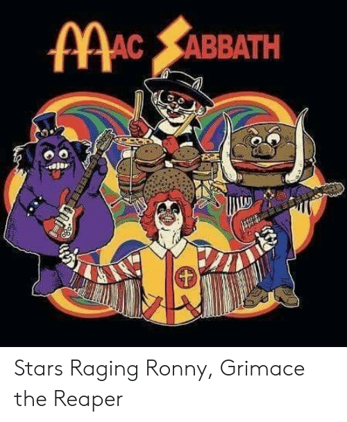 Stars, Reaper, and Grimace: ABBATH Stars Raging Ronny, Grimace the Reaper
