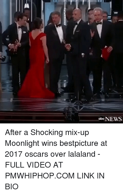 Lalaland: abcNEWS After a Shocking mix-up Moonlight wins bestpicture at 2017 oscars over lalaland - FULL VIDEO AT PMWHIPHOP.COM LINK IN BIO