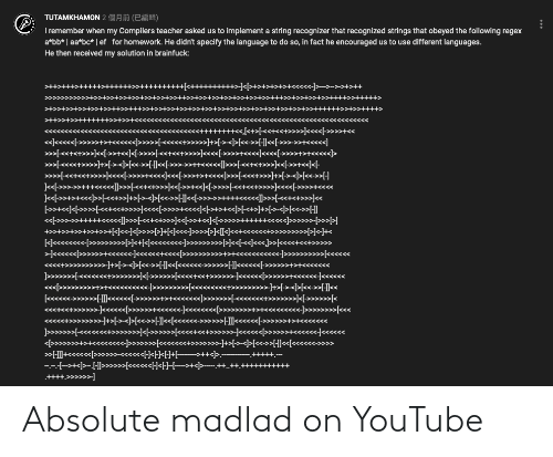 youtube.com: Absolute madlad on YouTube