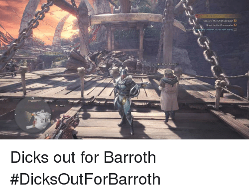 🐣 25+ Best Memes About Barroth | Barroth Memes