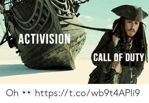 Duty: ACTIVISION  CALL OF DUTY Oh 👀 https://t.co/wb9t4APli9