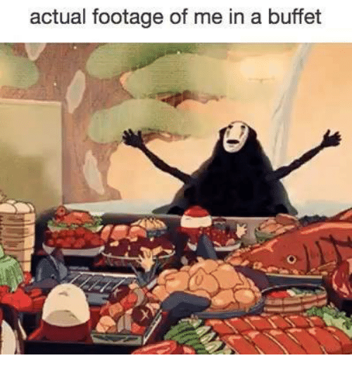 Humans of Tumblr, Buffet, and Actual: actual footage of me in a buffet