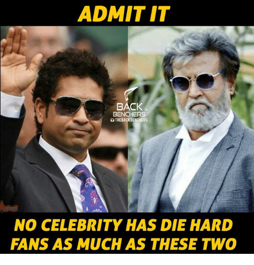 Memes, Celebrated, and Back: ADMIT IT  BACK  BENCHERS  UTHEBACKBENCHERS  NO CELEBRITY HAS DIE HARD  FANS AS MUCH AS THESE TWO