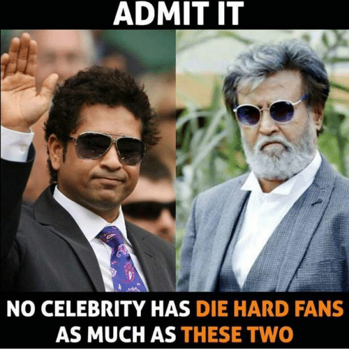 Memes, Celebrities, and 🤖: ADMIT IT  NO CELEBRITY HAS  DIE HARD FANS  AS MUCH AS THESE TWO