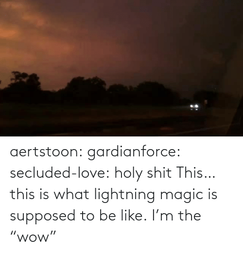 """Magic: aertstoon: gardianforce:  secluded-love: holy shit  This… this is what lightning magic is supposed to be like.   I'm the """"wow"""""""