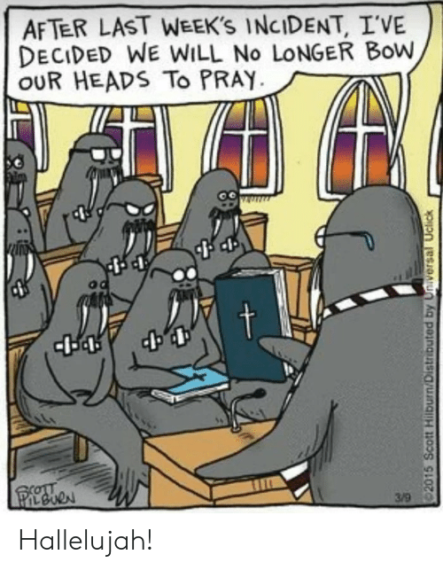 Hallelujah: AFTER LAST WEEK'S INCIDENT, I'VE  DECIDED WE WILL No LONGER Bow  OUR HEADS To PRAY Hallelujah!
