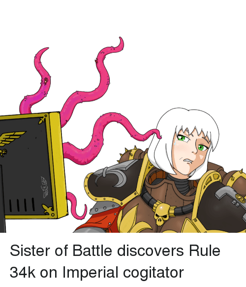 25 Best Memes About Sister Of Battle Sister Of Battle Memes