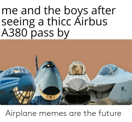 Memes Are: Airplane memes are the future