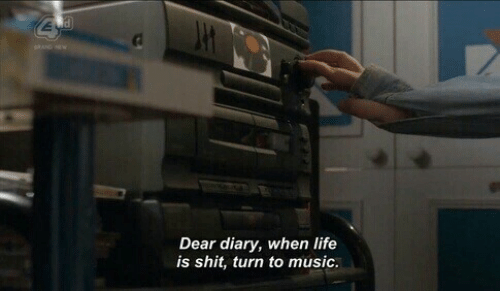 Life, Music, and Shit: al  Dear diary, when life  is shit, turn to music