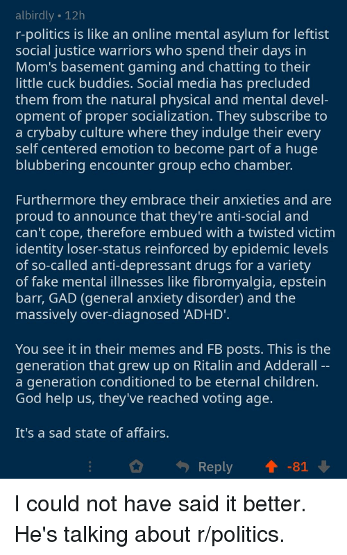 Ritalin Social Anxiety Reddit