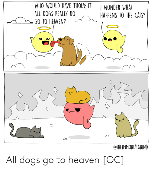 go to: All dogs go to heaven [OC]