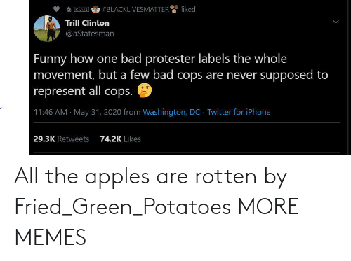 green: All the apples are rotten by Fried_Green_Potatoes MORE MEMES