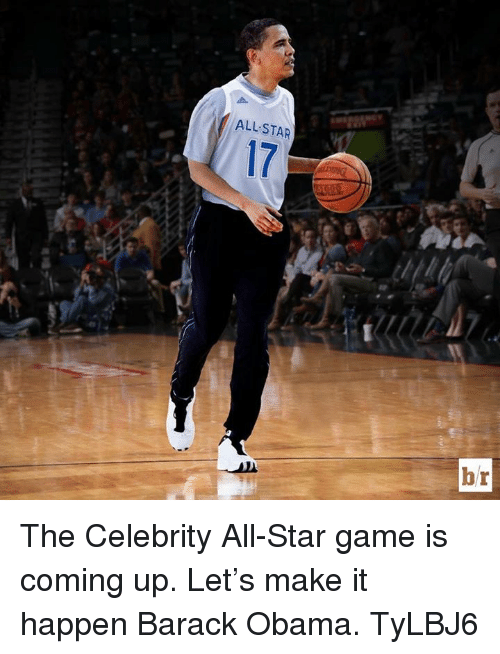 celebrity all star game
