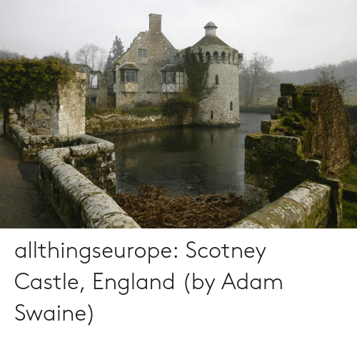 Flickr: allthingseurope: Scotney Castle, England (by Adam Swaine)