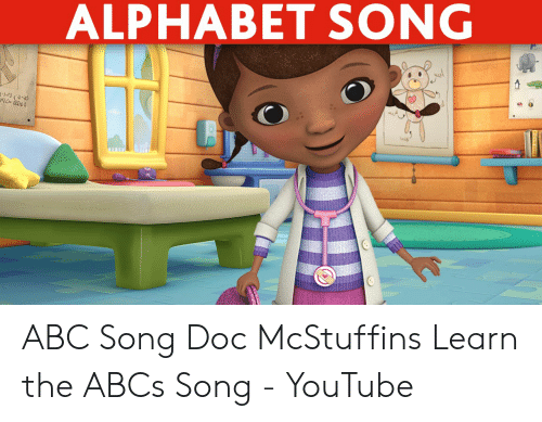 ALPHABET SONG ABC Song Doc McStuffins Learn the ABCs Song