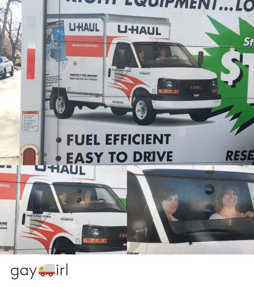 ALS RTA U-Haul U-Haul PERFECT FOR MOVING to Avoid FUEL