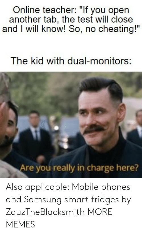Mobile: Also applicable: Mobile phones and Samsung smart fridges by ZauzTheBlacksmith MORE MEMES