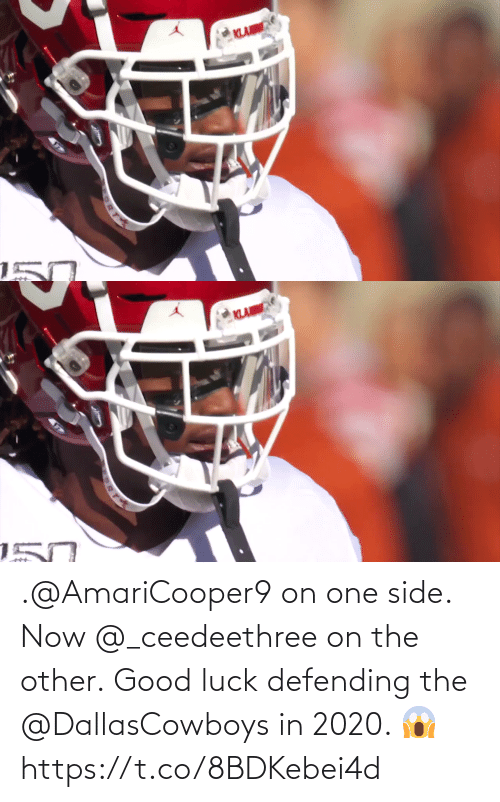 side: .@AmariCooper9 on one side. Now @_ceedeethree on the other.  Good luck defending the @DallasCowboys in 2020. 😱 https://t.co/8BDKebei4d
