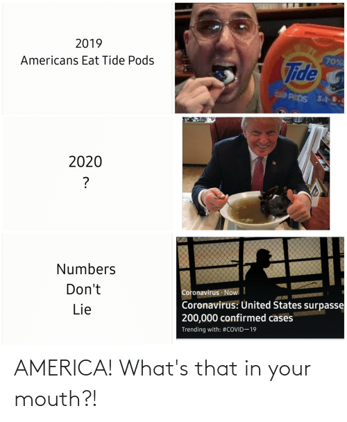 In Your Mouth: AMERICA! What's that in your mouth?!