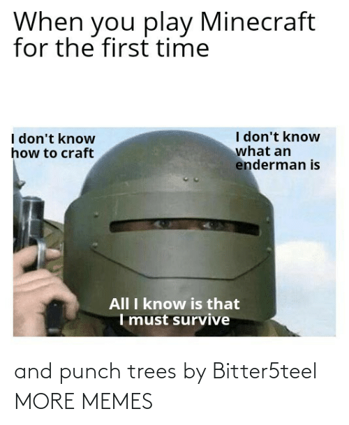 Trees: and punch trees by Bitter5teel MORE MEMES