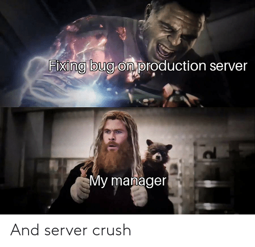 Crush: And server crush