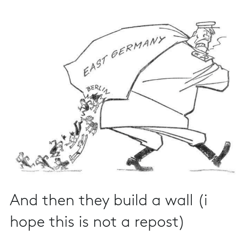 build a: And then they build a wall (i hope this is not a repost)