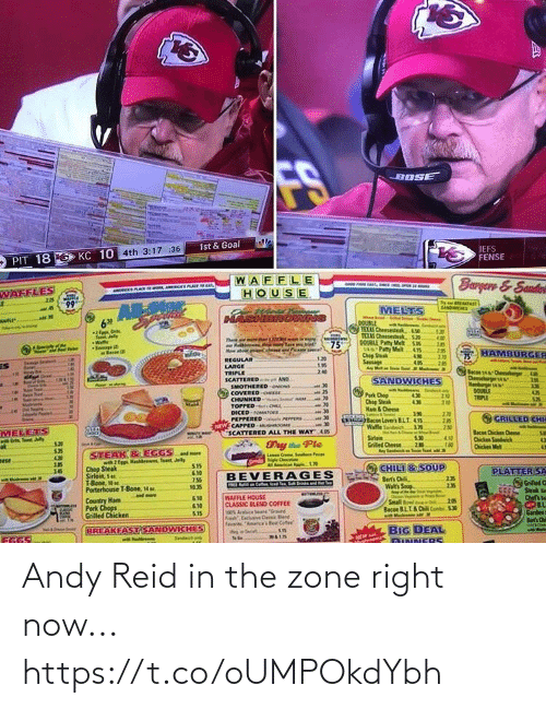 zone: Andy Reid in the zone right now... https://t.co/oUMPOkdYbh