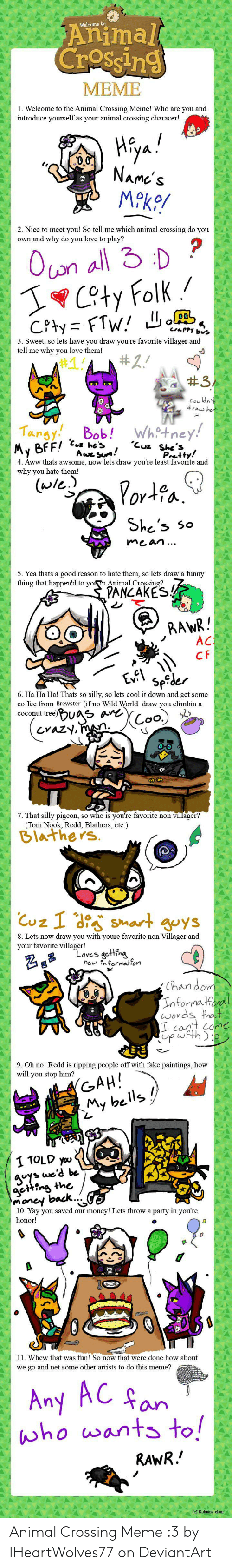 Animal Crossing Meme 1 Welcome To The Animal Crossing Meme Who