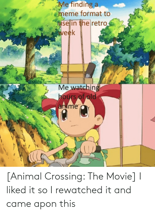 Anime, Animal, and Movie: [Animal Crossing: The Movie] I liked it so I rewatched it and came apon this