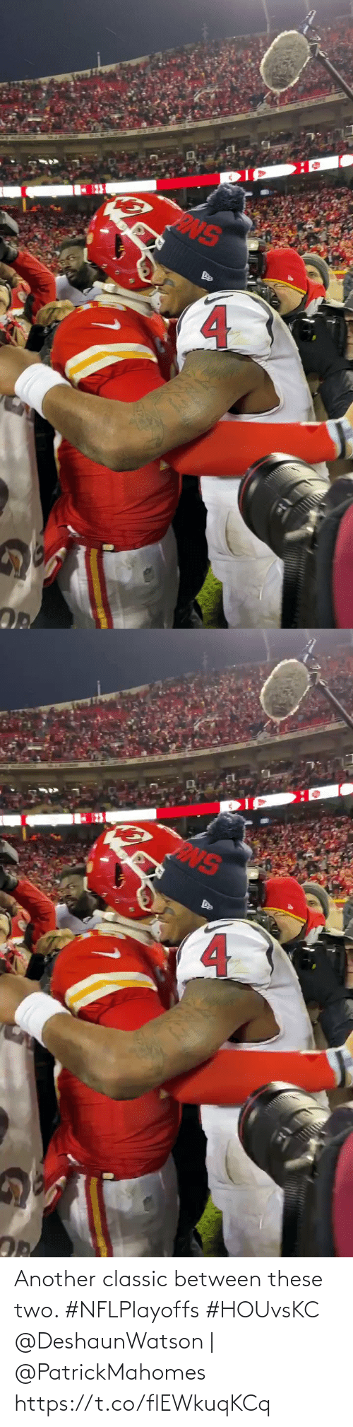 Between: Another classic between these two. #NFLPlayoffs #HOUvsKC  @DeshaunWatson | @PatrickMahomes https://t.co/flEWkuqKCq