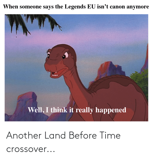 crossover: Another Land Before Time crossover...