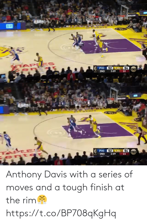 series: Anthony Davis with a series of moves and a tough finish at the rim😤 https://t.co/BP708qKgHq