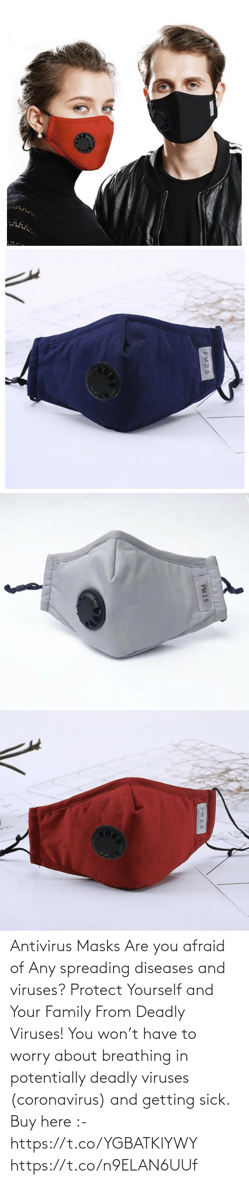 Deadly: Antivirus Masks  Are you afraid of Any spreading diseases and viruses?    Protect Yourself and Your Family From Deadly Viruses!   You won't have to worry about breathing in potentially deadly viruses (coronavirus) and getting sick.  Buy here :- https://t.co/YGBATKlYWY https://t.co/n9ELAN6UUf