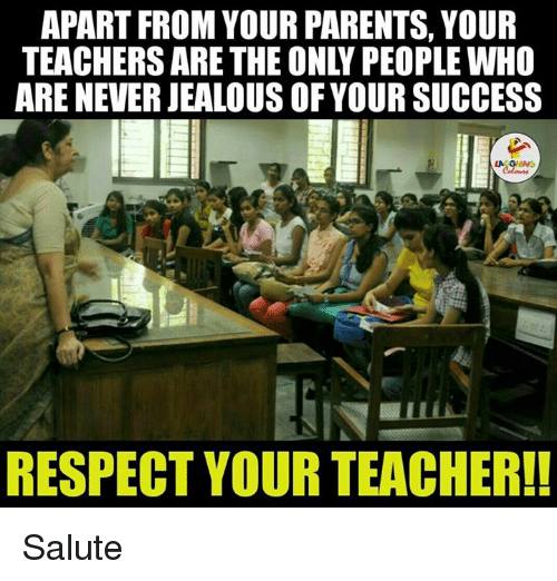 Respect Your Teacher
