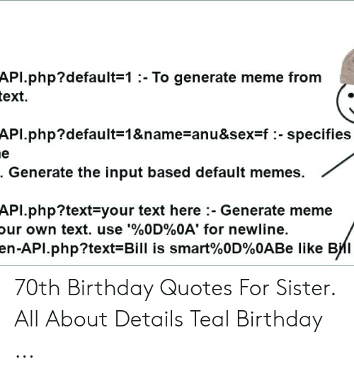 apl default 1 to generate meme from ext apl default 1 name anu f specifies generate the