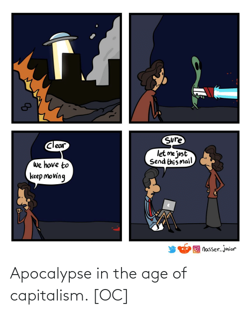 Age: Apocalypse in the age of capitalism. [OC]