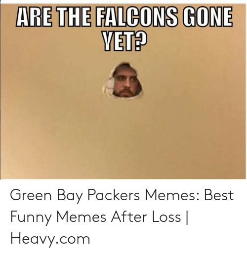 Green Bay Memes: ARE THE FALCONS GONE Green Bay Packers Memes: Best Funny Memes After Loss | Heavy.com