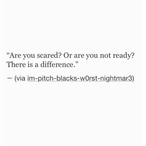 """Via, Pitch, and You: """"Are you scared? Or are you not readv?  There is a difference  05  (via im-pitch-blacks-wOrst-nightmar3)"""