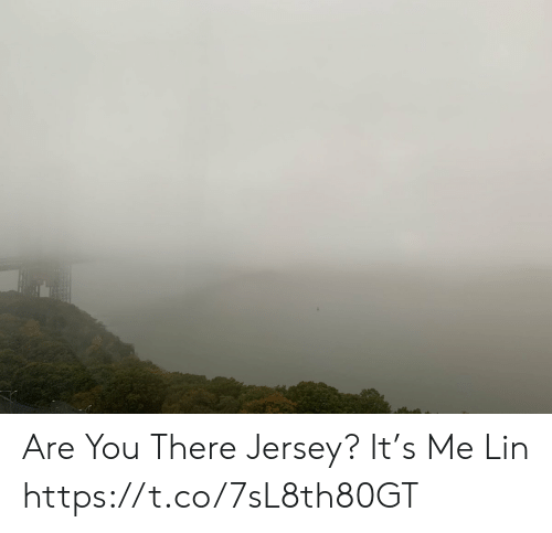 jersey: Are You There Jersey? It's Me Lin https://t.co/7sL8th80GT