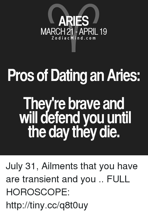 Aries dating Aries horoskop