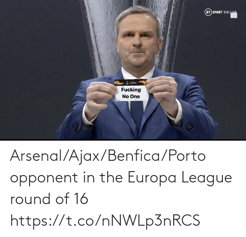 league: Arsenal/Ajax/Benfica/Porto opponent in the Europa League round of 16 https://t.co/nNWLp3nRCS